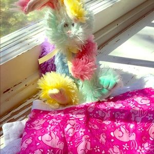 Lilly Pulitzer Reversible Pink Bunny Wrap Skirt